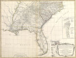 A new and general map of the Southern dominions belonging to the United States of America viz North Carolina, South...